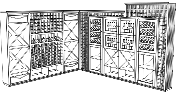 Custom Wine Cellar Plans