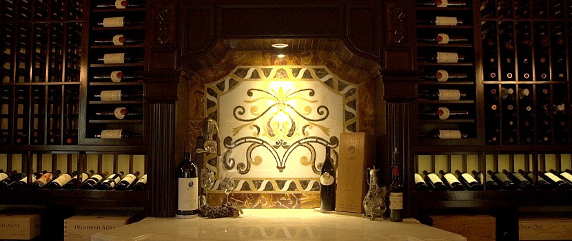 Beautiful Custom Wine Cellars - Custom Fit