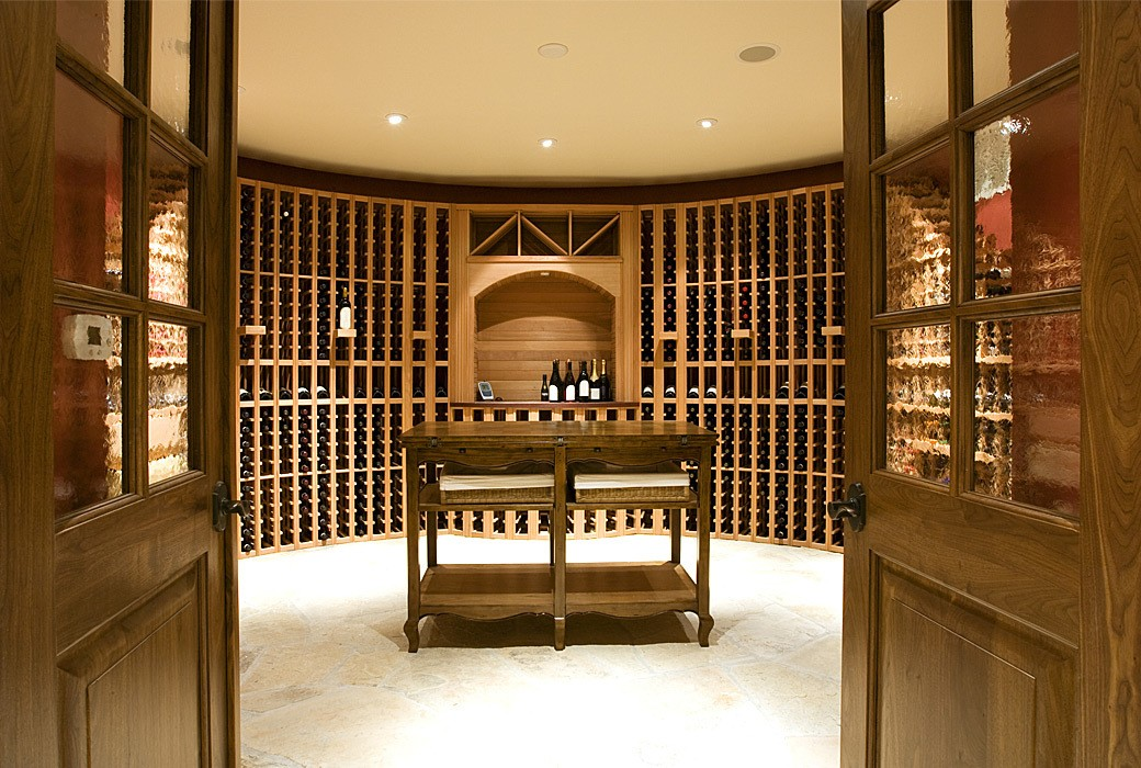 Our wine cellar doors are built nby true craftsman